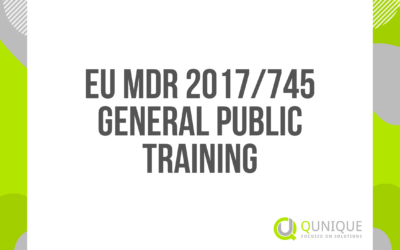 EU MDR 2017/745 GENERAL PUBLIC TRAINING 16.02./12.03./13.04./12.05./11.06./12.07./10.09./12.10./12.11./13.12.2021