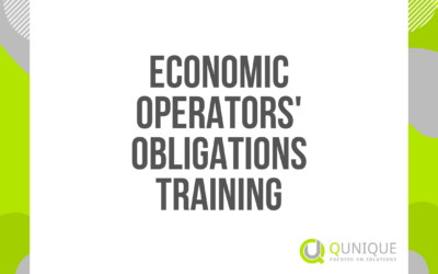 ECONOMIC OPERATORS' OBLIGATIONS TRAINING 05.02./18.03./15.04./18.06./22.07./09.09./09.11./09.12.2021