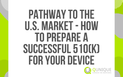 PATHWAY TO THE U.S. MARKET – HOW TO PREPARE A SUCCESSFUL 510(K) FOR YOUR DEVICE 16.03./16.04./17.05./19.07./21.09./28.10./03.12.2021