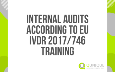 INTERNAL AUDITS ACCORDING TO EU IVDR 2017/746 24.02./21.04./20.05./21.06./20.08./20.09./22.10./22.11./07.12.2021